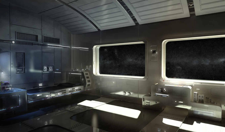 корабль, космос, иллюминаторы, кровать, горячительные, люкс,