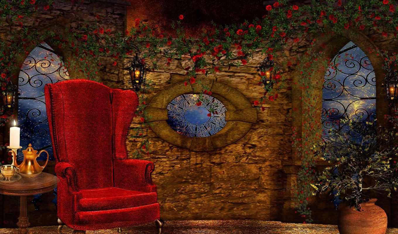 кресло, свеча, art, комната, дек, community, целикомв, цитата, сообщения, прочитать, цитатник,