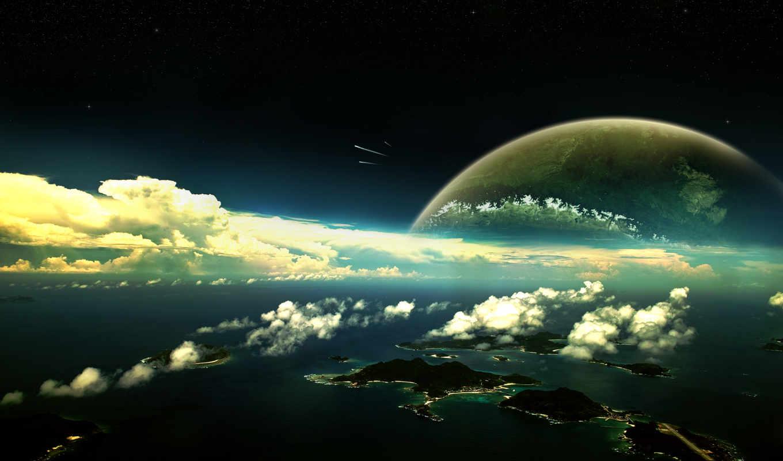 view, panoramic, islands, экзосфера, photography, desktop,