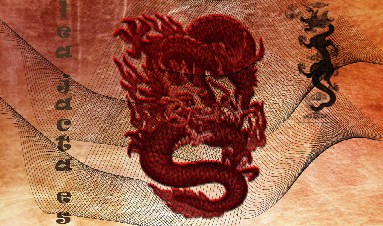 дракон, китаянка, desktop,
