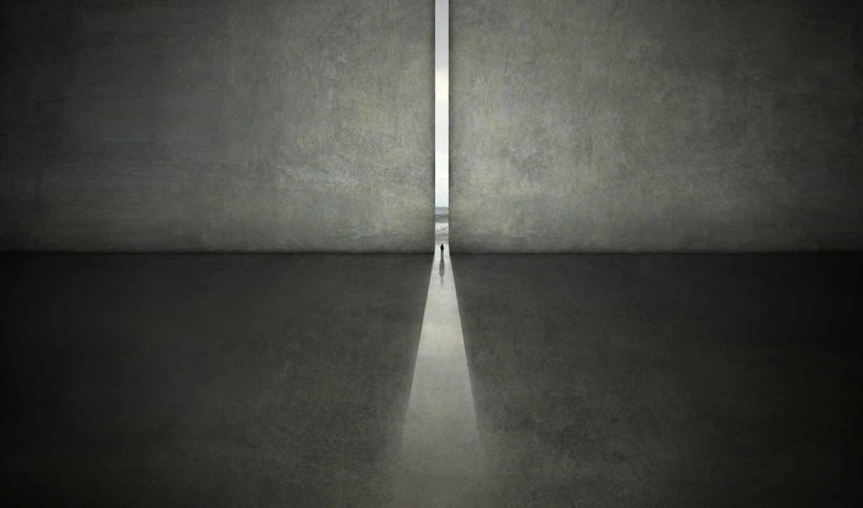 одиночество, человек, karcz, пространство, michal, photography, digital, to, karezoid, and,