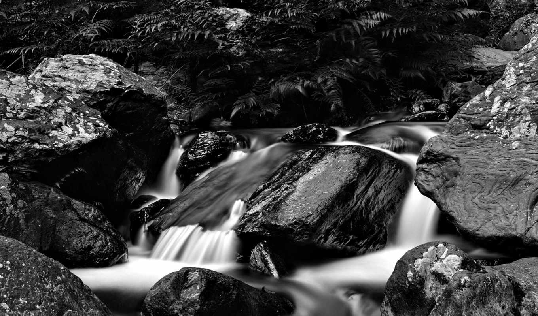 река, горная,