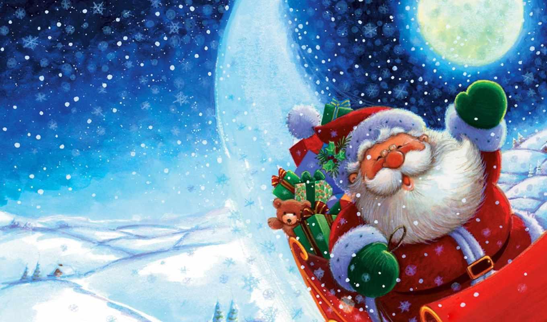 год, новый, дед, мороз, снег, christmas, смотрите, kitty, pictures, santa, hello, claus, демотиваторов,