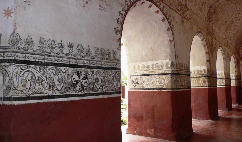 arcade, арка, живопись, графика, красивые, города, стены, architecture,