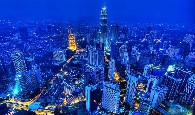 город, kuala, lumpur, малайзии, свое, является, столицей,