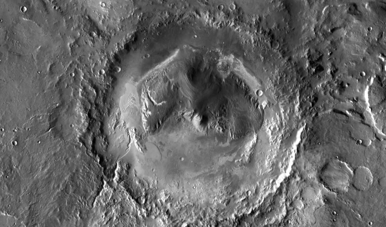 crater, гейла, curiosity, посадки, гейл,