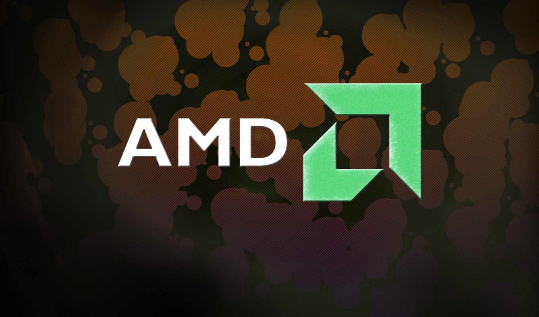 amd, athlon, лого, тёмный