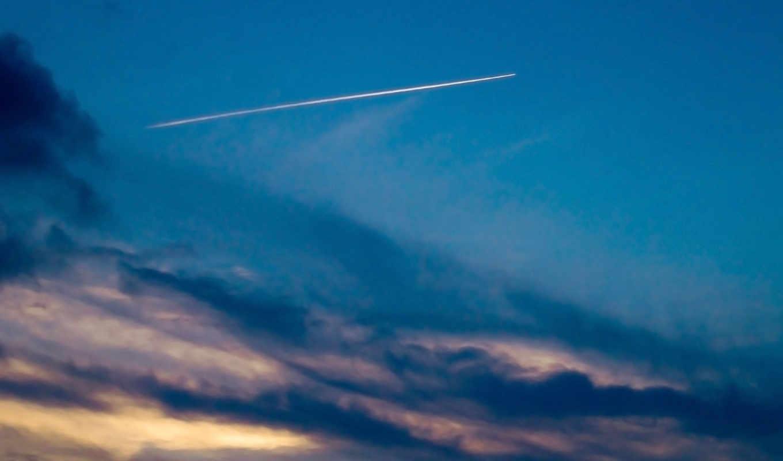 airplane, sky, comet, wallpapers, природа, photos, изображение, picsfab, картинок, we, stock, фабрика,