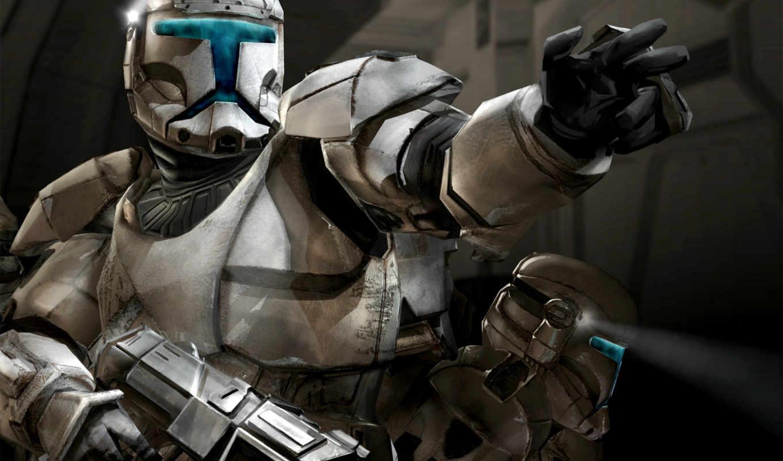 star, wars, солдат, республики, оружие, republic, свет, войны, звездные, commando,