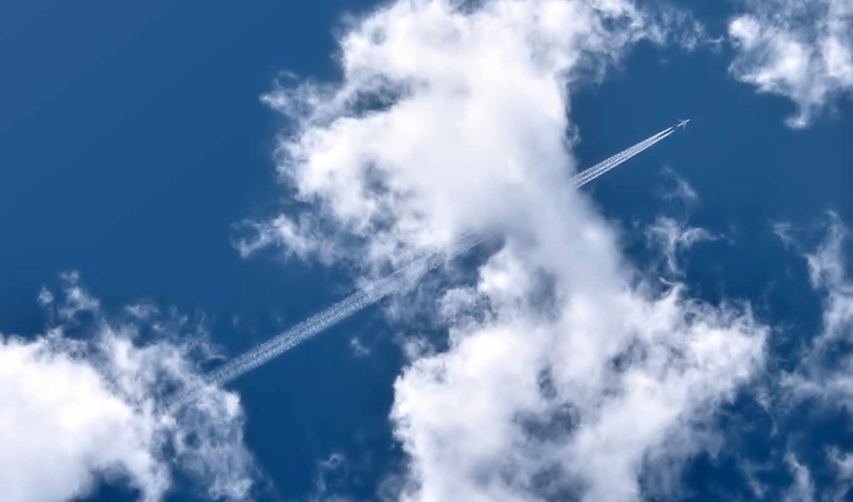 clouds, sky, aircraft, planes, самолеты, aircrafts, nature, plane, гражданские, city, photo, фотографию, images, облака, след, life, size, home, pictures,