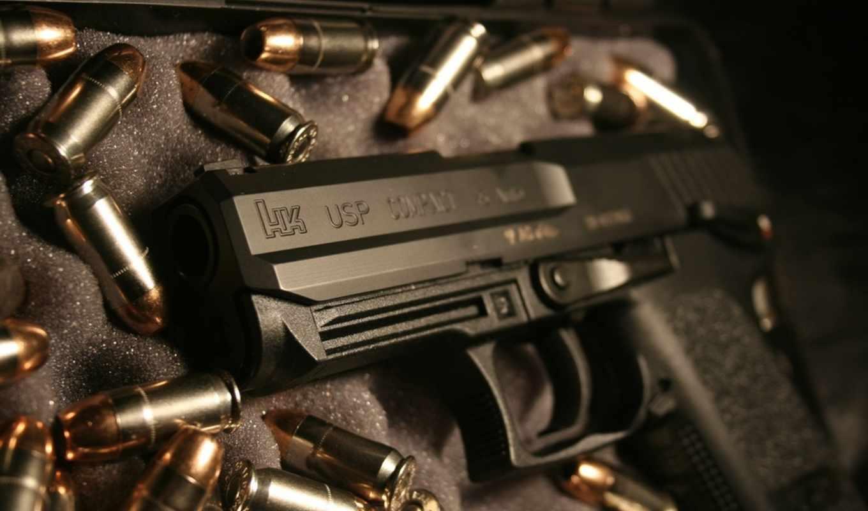 оружие, зброя, картинка, koch, usp, heckler, картинку,
