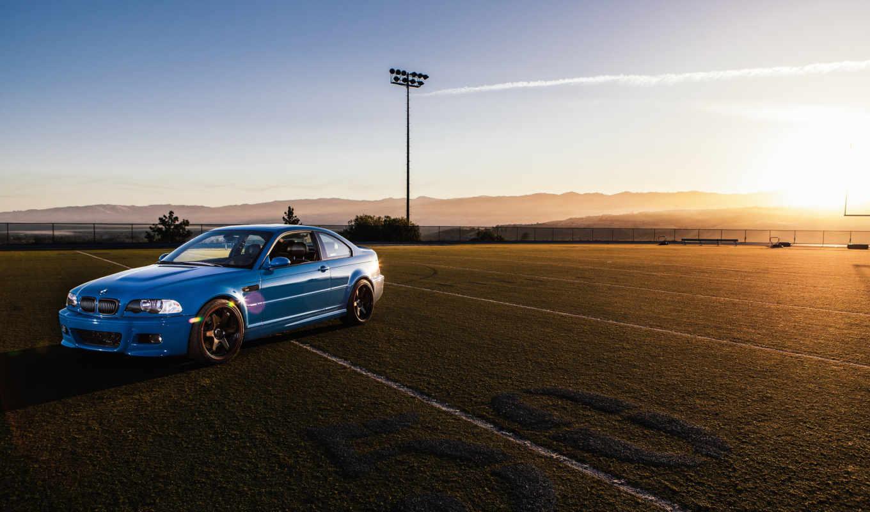 футбольное, поле, сайте, машины, бмв, bmw, blue,