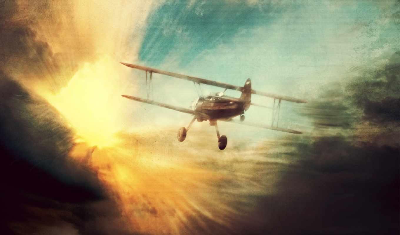 полет, самолет, обои, самолеты, фото, самолета, эт