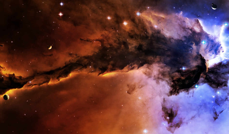 туманность, best, pack, outer, планеты, звезды, картинка, stars,