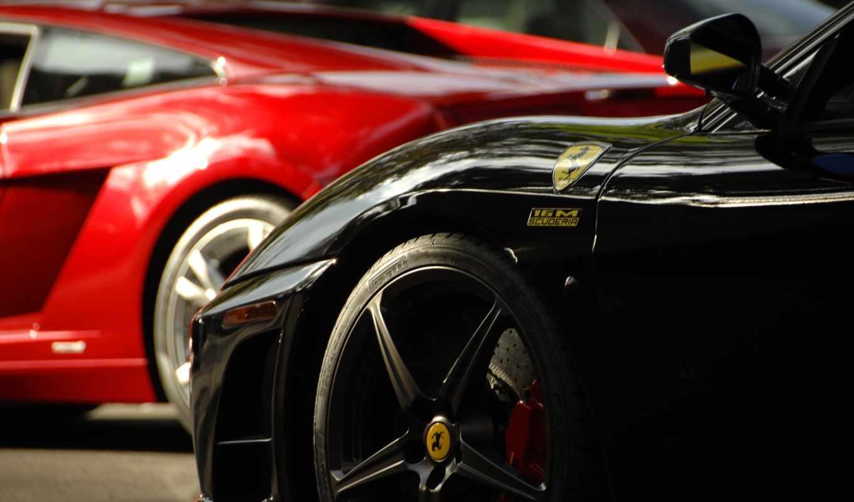 авто, red, спортивные, автомобили, black, color, машины,