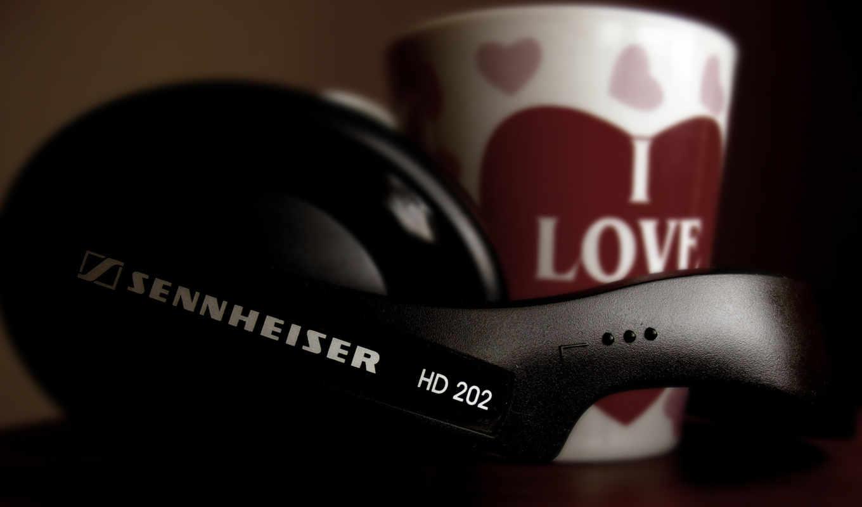 наушники, музыка, sennheiser, headphones,