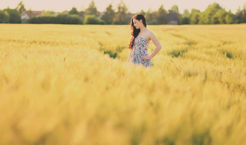 подборка, красивых, девушек, поле, devushki, девушка, красивые, сайте,