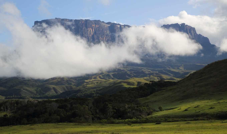картинка, природа, горы, небо, landscape, venezuela, usa,