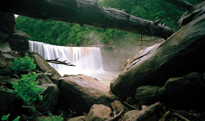 природа, картинка, водопады, изображение, usa, yosemite,