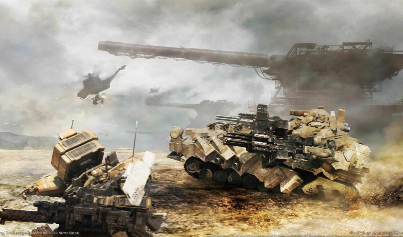 anime, artillery, меха, танк,