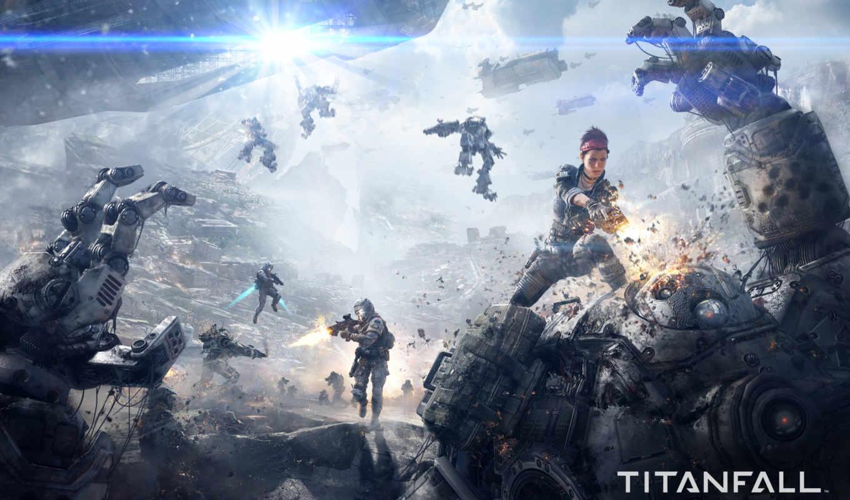 titanfall, скриншот, video, колл,