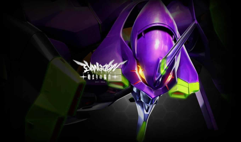 evangelion, robot, anime, genesis, neon, меха, eva,