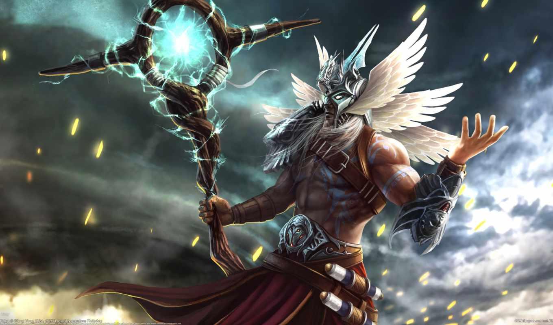 магия, маска, фэнтези, мужчина, belt, посох, крылья, свитки, татуировка, плечо,