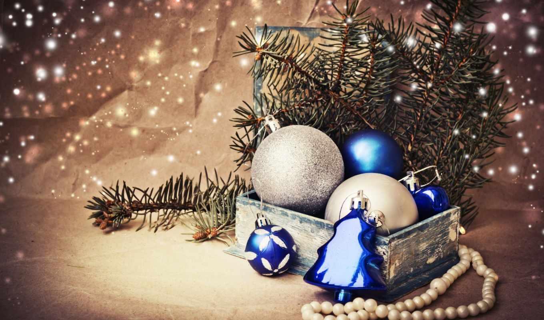 god, новый, год, красивые, игрушки,