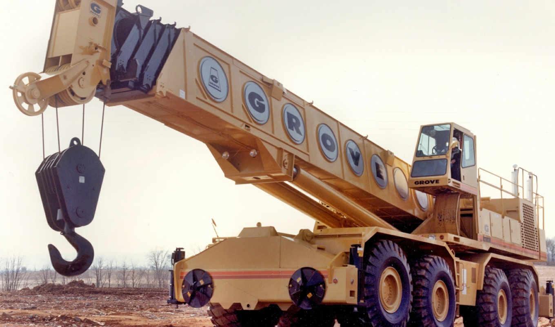 grove, crane, mobile, jibup, heavy,