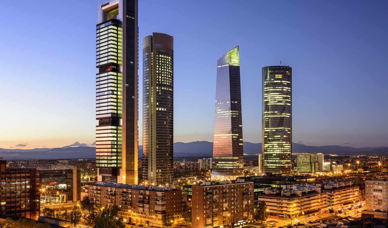 испания, мадрид, country, have, skyline, kitchen, международный, центр