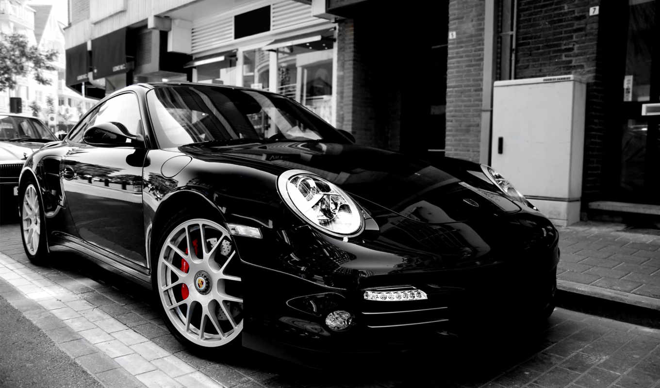 porsche, turbo, black, hdtv, resolution, پورشه, залог, под, деньги, www,
