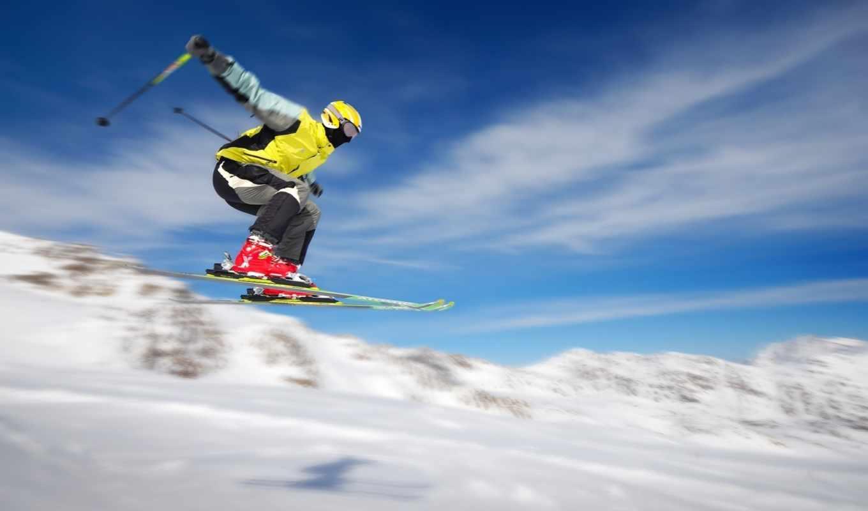 skiing, snow, горнолыжник, полете, desktop, жизнь, wide, прыжок, image, pack, select, спорте, télécharger, resolution, mountains, winter, download, sky, flying,