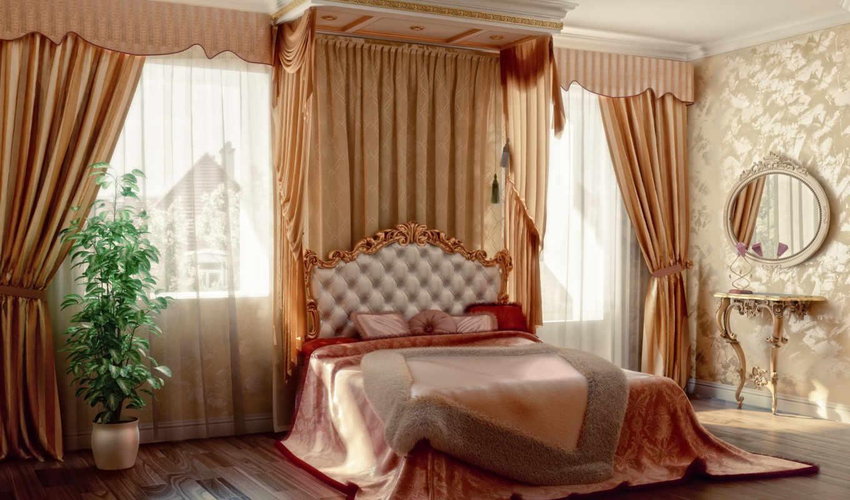 спальни, дизайна, балдахины, студия, проект, zl,