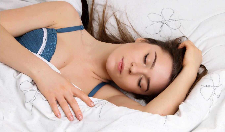 девушка, спящая, девушки, спит,