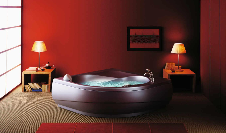 комнаты, ванной, комната, dizain, ванная, интерьера, interer, ванных, комнат, джакузи, интерьеры,