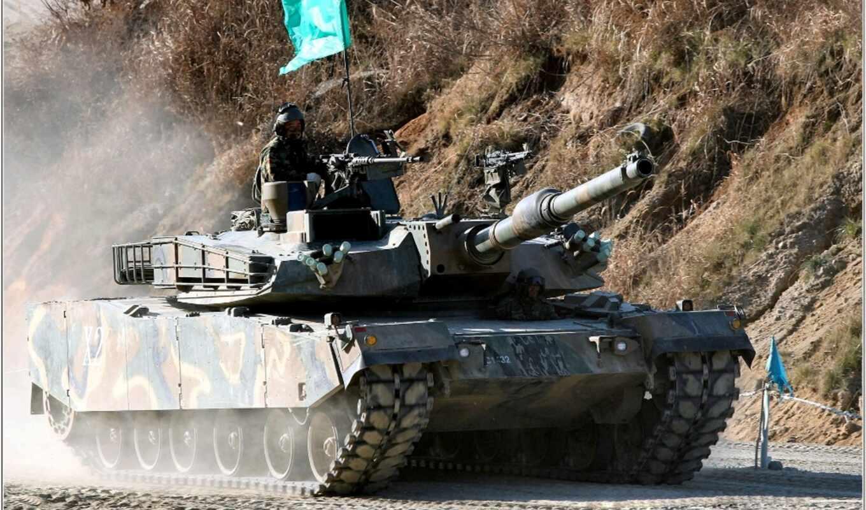 танк, korea, южная, абрамс,