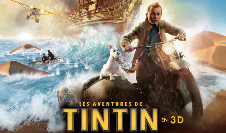 tintin, movie, плакат, adventures, posters, secret,