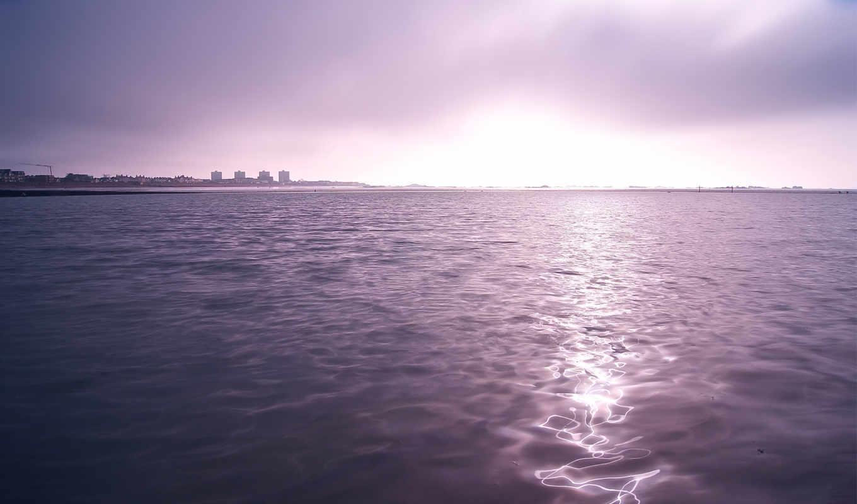 свет, отражение, water, природа, landscape, море, небо,