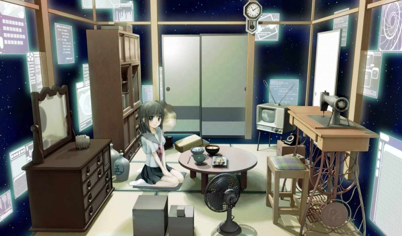 room, anime, girl, space, picture, photobucket, wa