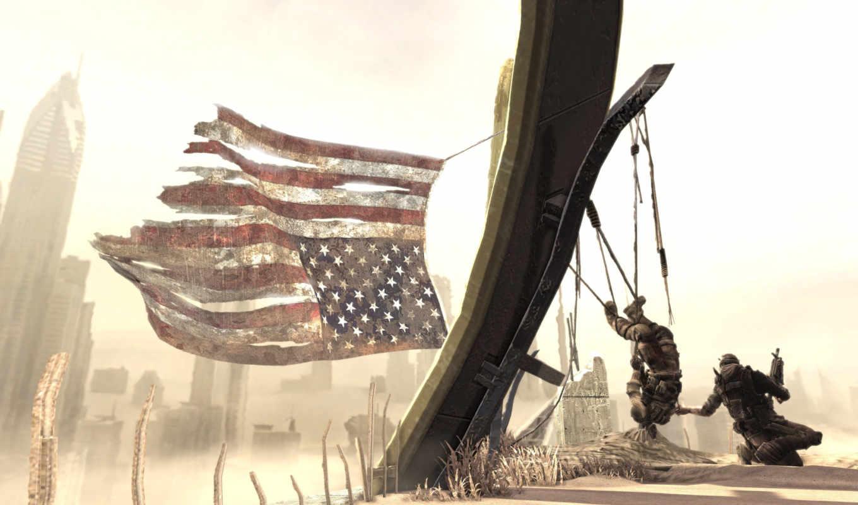 spec, line, флаг, солдат, американский, песок, opsthe,