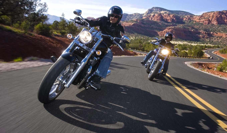 мотоцикл, harley, дорога, davidson, мотоциклы,