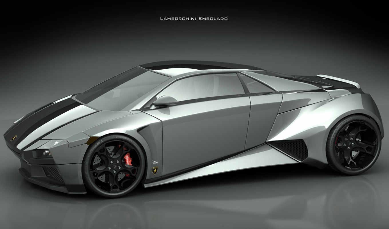 lamborghini, cars, car, concept, aventador, more, see, embolado,