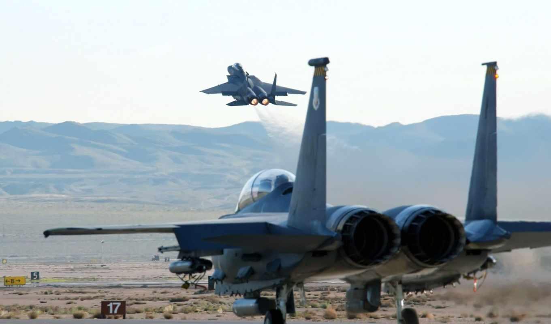 истребители, eagle, strike, авиация,самолеты, истребитель,