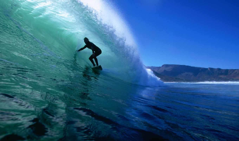 сёрфинг, волна, море,