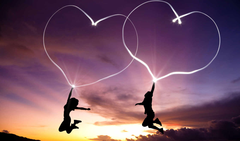 love, девушка, день, святого, валентина, любви, мужчина, февр, девушке, люди, букет,