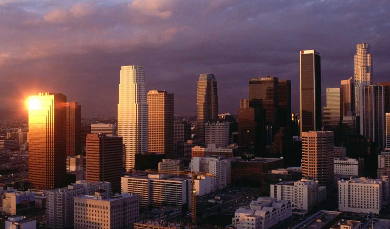 los, angeles, город, качественные, города,