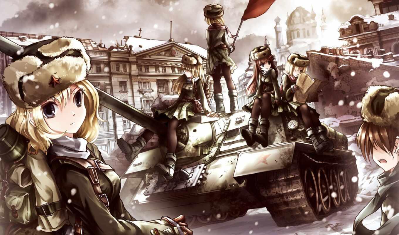 anim, военный, ссср, девушка, anime, арта, amino, первое, shape