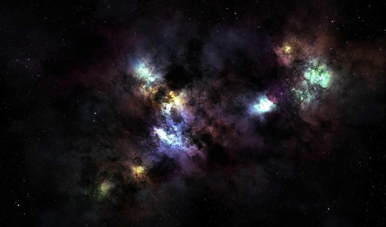 бесконечность, космос, nebula, звезды,