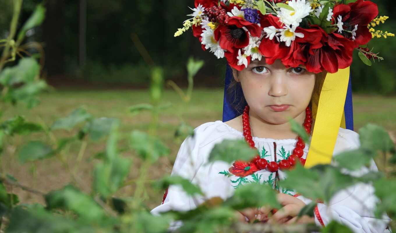 венок, девушка, ukraine, ukrainian