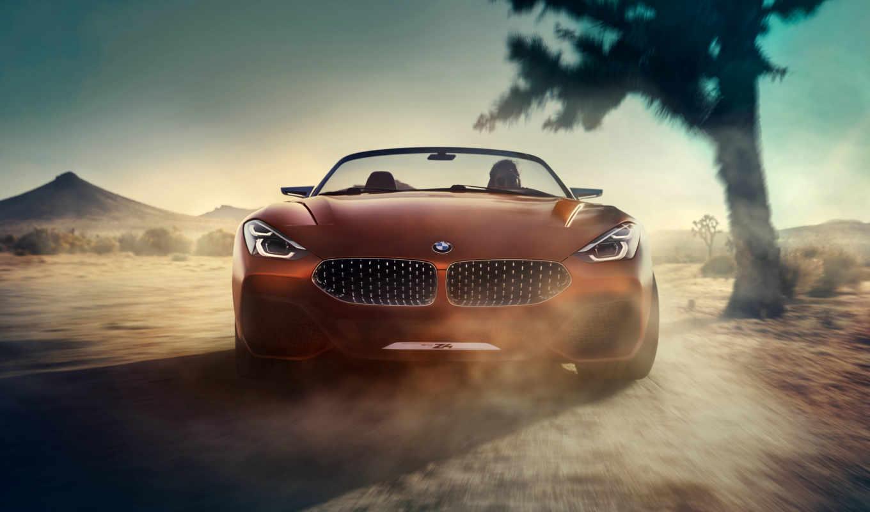 bmw, concept, roadster, officially, сегодня, представили, салона, нового, фотографий, кар,